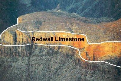 Redwall Limestone, Grand Canyon